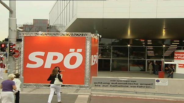 Austria's Social Democrats headquarters