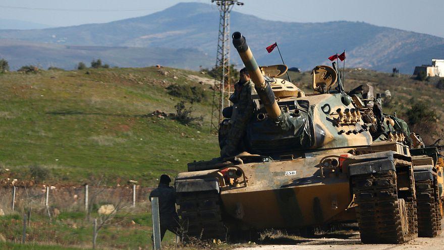 Syrien: Angriffe auf türkischen Militärkonvoi