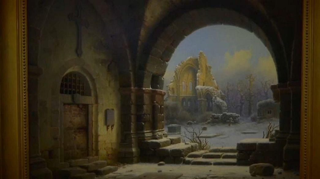 Kiállítás a lopott festményekből