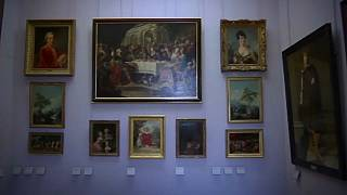 Nazi looted art on display in Louve