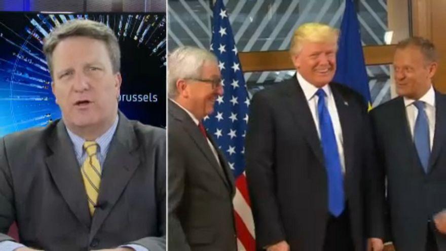 Trump burkoltan fenyegeti az EU-t