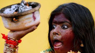 Malaysia: Hindus  feiern Thaipusam-Fest