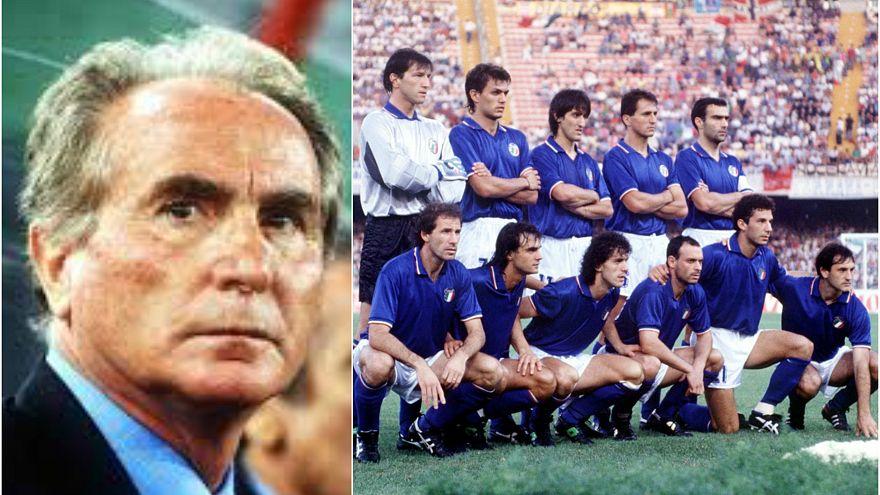 E' morto Azeglio Vicini, ex c.t. degli azzurri a Italia '90