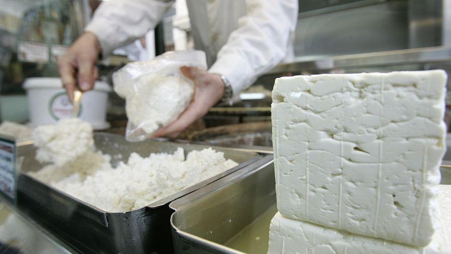 Настоящий сыр фета: только из Греции