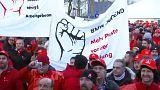 Sztrájkolnak az ipari munkások Németországban