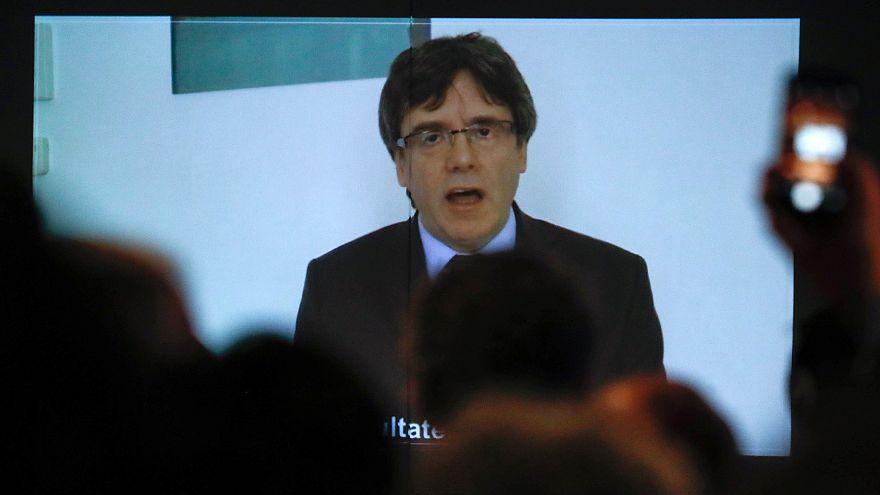Katalonien: Puigdemont erklärt Unabhängigkeitskampf für gescheitert