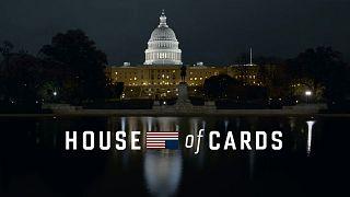 Νταϊάν Λέιν και Γκρεγκ Κινίαρ στο House of Cards