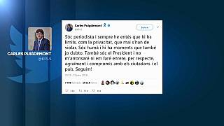 Puigdemont admits failure over Catalan independence bid in private text messages
