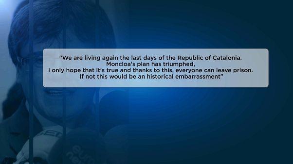 As mensagens privadas de Puigdemont