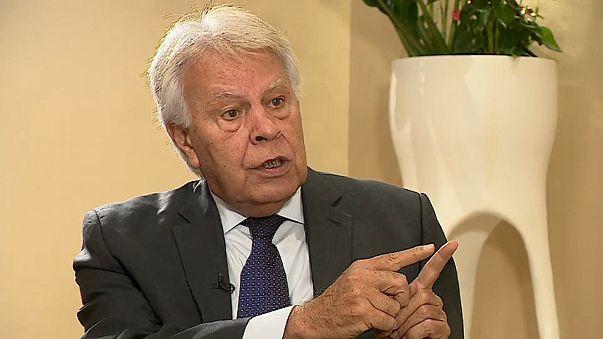 """Фелипе Гонсалес: """"Некоторые полагают, что демократия выше закона.."""""""