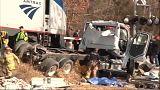 Usa: treno con parlamentari Repubblicani investe camion
