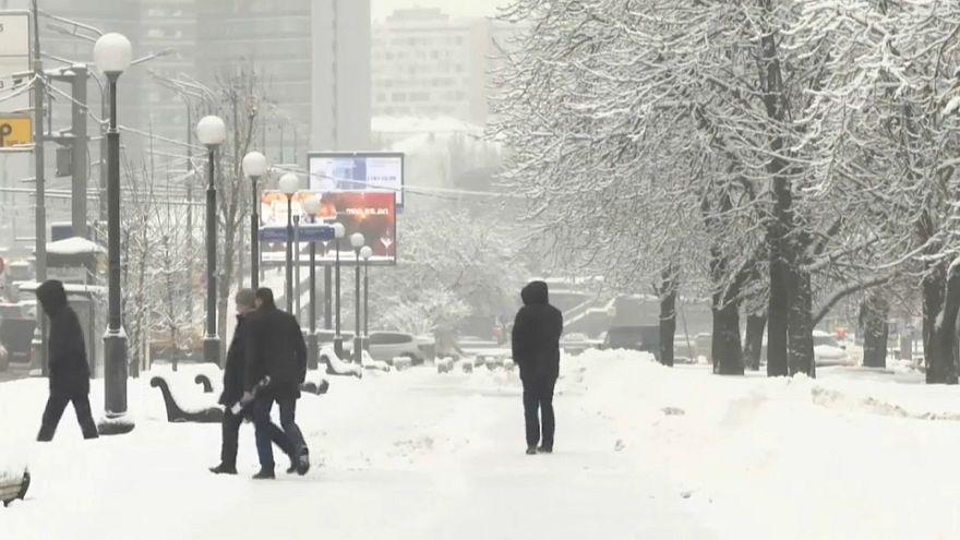 موسكو تلبس الرداء الأبيض