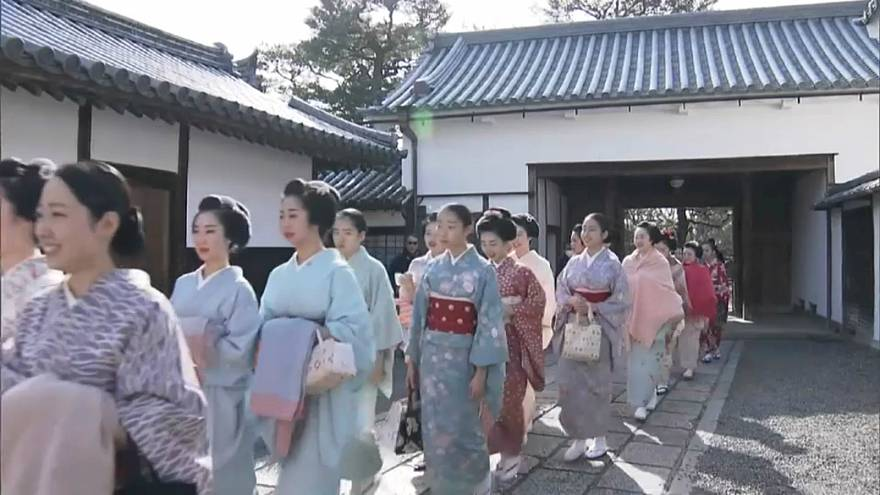 الغيشا رمز عراقة اليابان