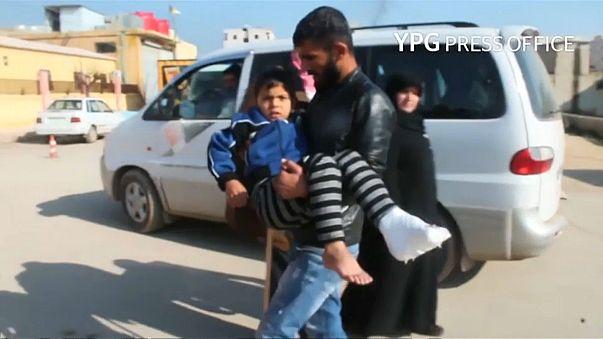 Налёт ВВС Турции на сирийский Африн