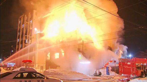 Trágico incendio en una residencia de ancianos de Japón