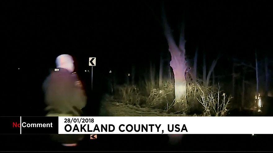 Полицейский спас накурившегося водителя