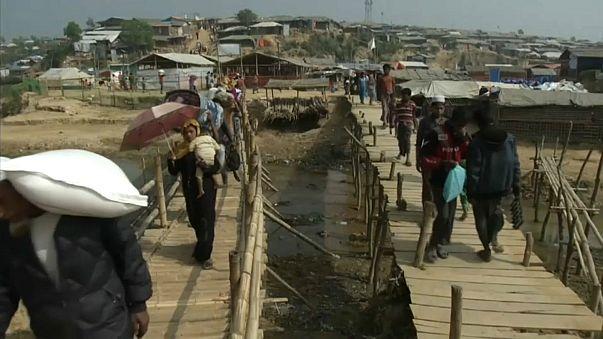 انتشار المقابر الجماعية في ميانمار