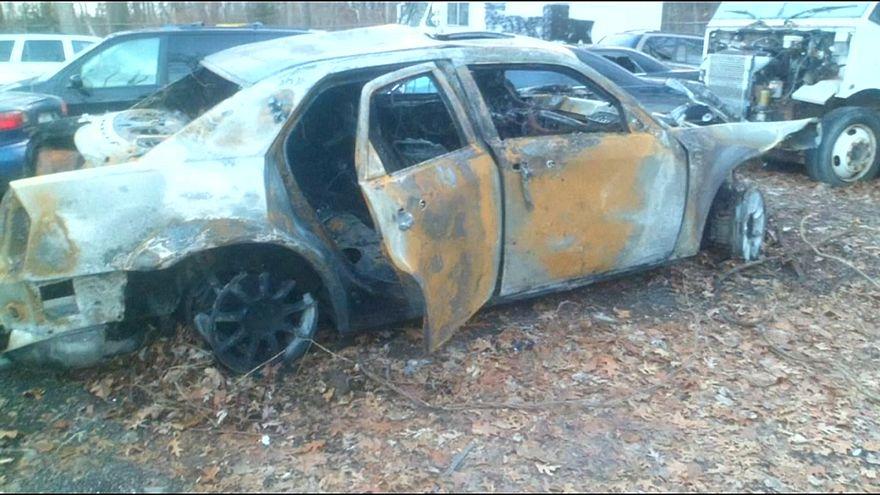 نجاة سائق من الموت في حادث مروّع بأوكلاند الأمريكية