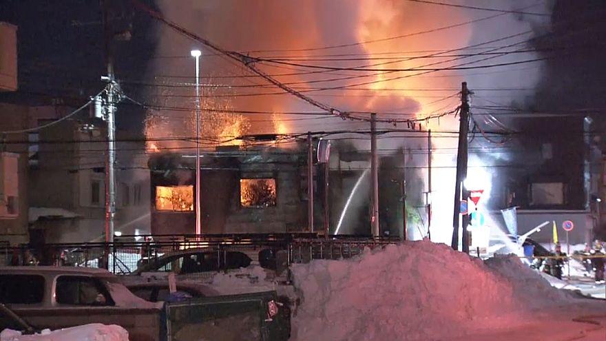Japon : incendie dans un centre d'accueil pour personnes âgées