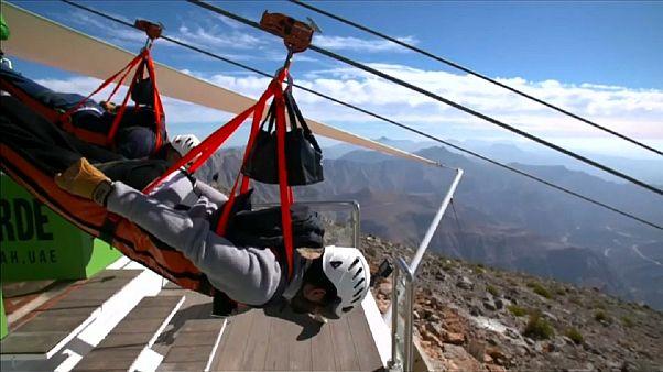 World's longest zipline to open in the UAE