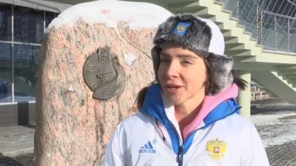 Egy orosz sportoló a doppingbotrányról