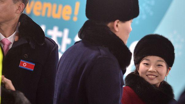 Unity amid war: North Korean athletes arrive in South Korea