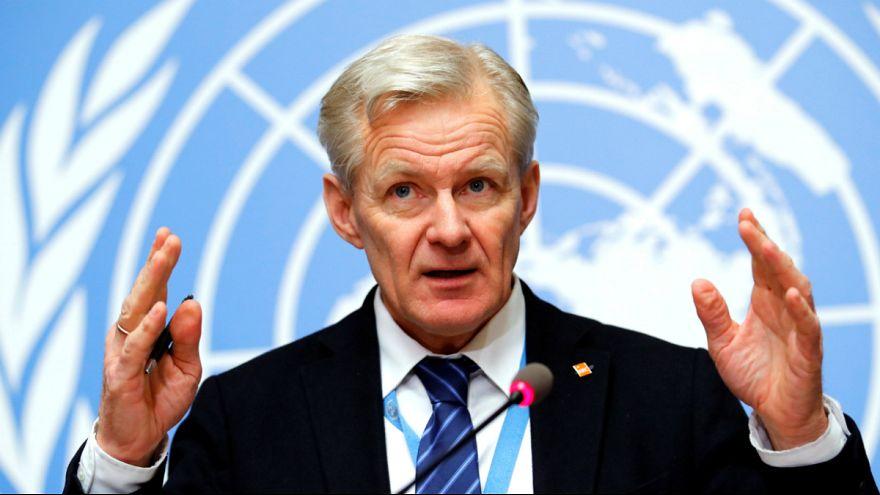 UN Syria envoy's Special Adviser Egeland
