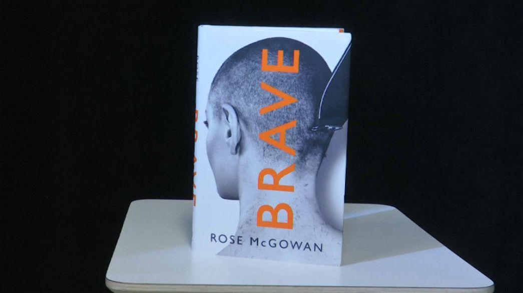 Activist McGowan publishes autobiography