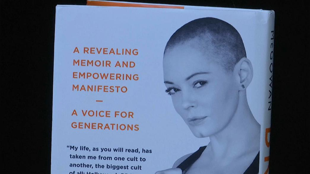 Rose McGowan lança livro, álbum e documentário