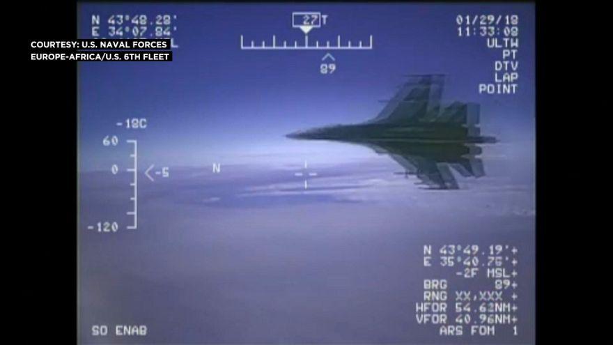 Amerikai-orosz vita a felderítő repülésről