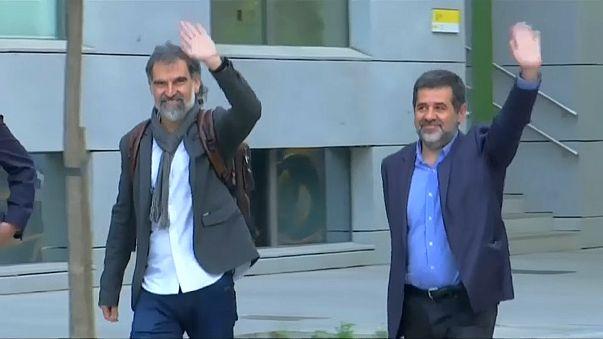 Separatistas catalães presos recorrem à ONU