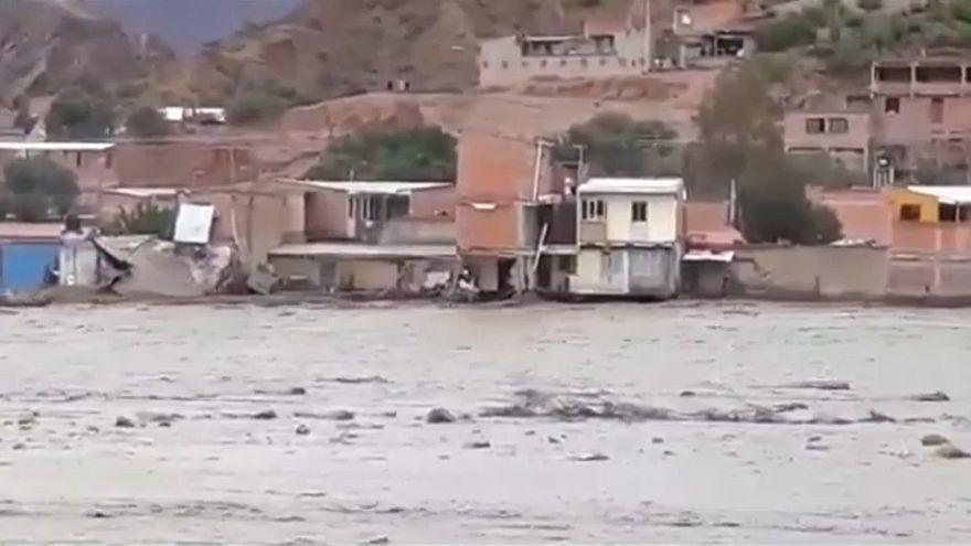Evo Morales decreta el estado de alerta por inundaciones en Bolivia