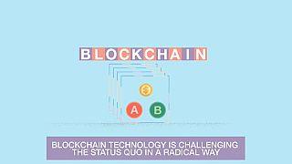 Blockchain tecnology promotional video
