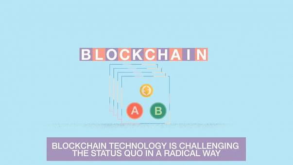 Blockchain tecnology promotional video