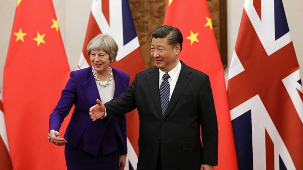 May courts China for post-Brexit trade