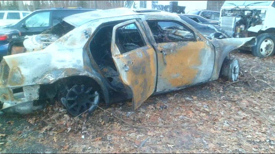 Rettung aus brennendem Auto