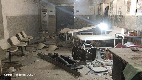 حمله جنگندهها به بیمارستان زیر زمینی در سوریه