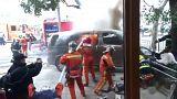 Shanghai: furgone in fiamme sulla folla, 18 feriti. Ma non è un attentato