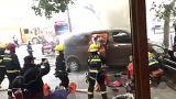 Şanghay'da kontrolden çıkan minibüs dehşet saçtı