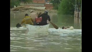 Miles de evacuados por las inundaciones en Bolivia