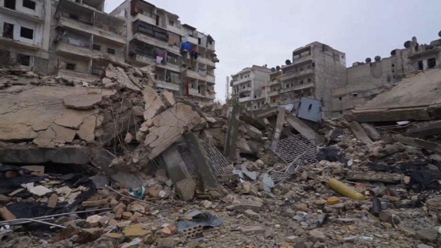 Обратный путь в Алеппо