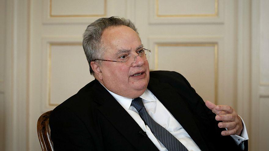 Yunanistan dışişleri bakanına mermili tehdit