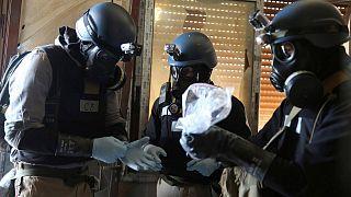 خبراء في الأسلحة الكيميائية