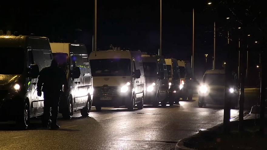 Кале: битва мигрантов