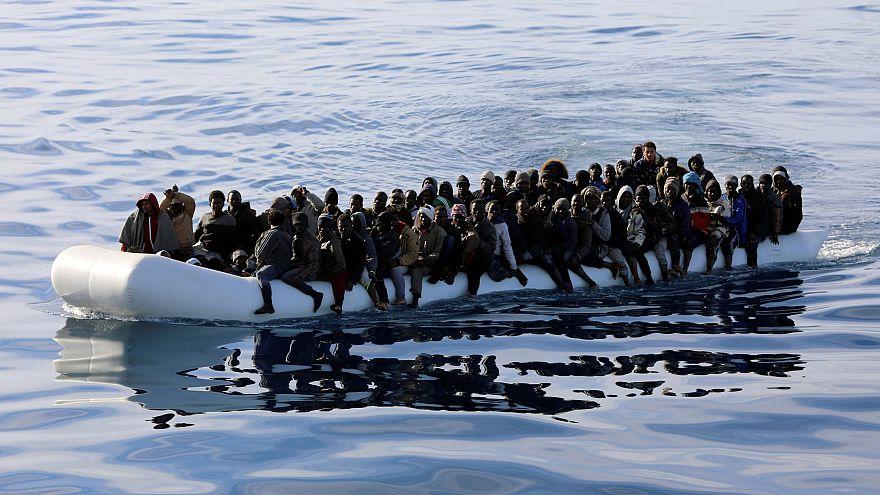 Vor der Küste Libyens ARCHIVBILD
