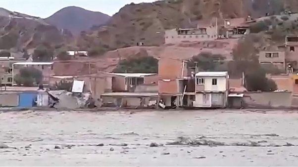 Fortes inondations en Bolivie