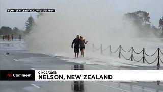 В Новой Зеландии разбушевался циклон