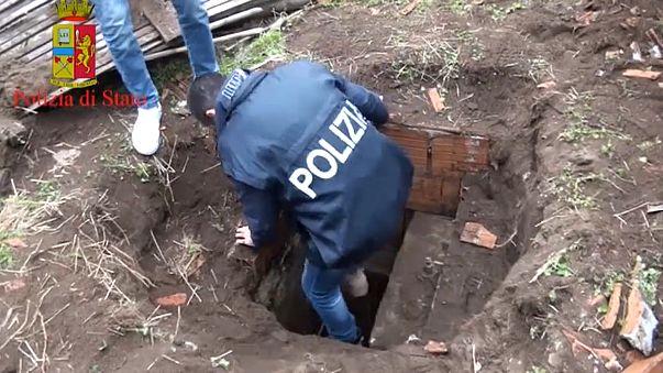 Calabria, scoperto a Rosarno un bunker della ndrangheta