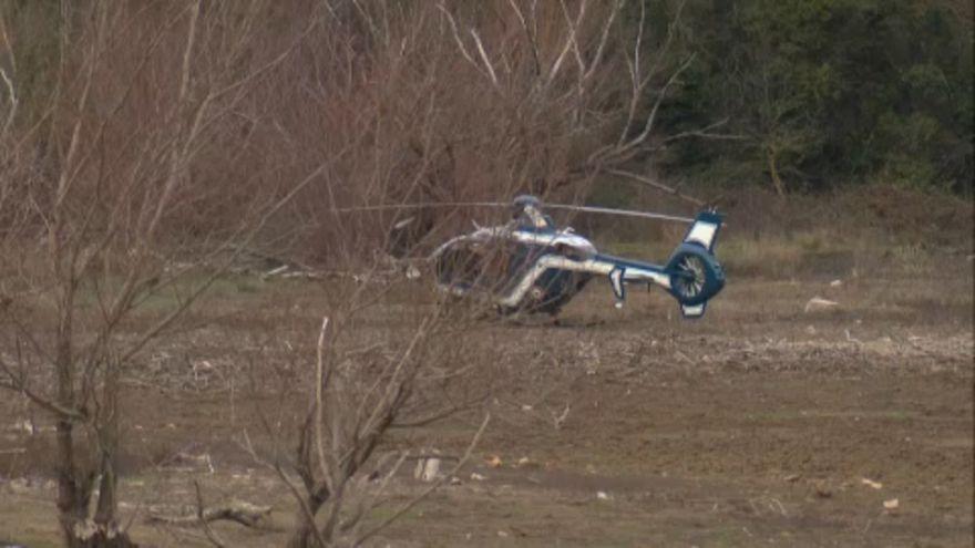 Helikopterszerencsétlenség Franciaországban