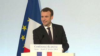 """Emmanuel Macron """"esclarece"""" posição sobre a intervenção turca na Síria"""